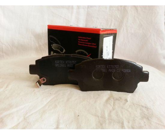 Колодки тормозные передние Lifan Solano, BYD F3, F3R ,Geely MK