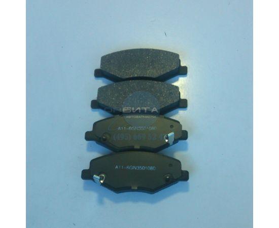 Колодки тормозные передние Chery Amulet, Hi-Q (Корея)