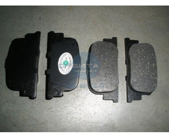 Задние тормозные колодки Lifan Solano, BYD F3